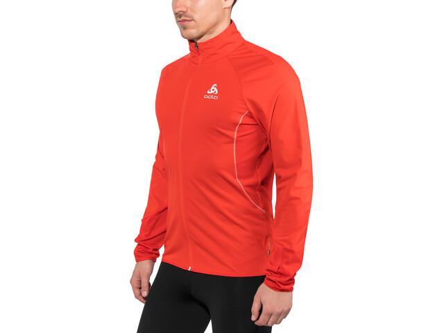 Odlo Zeroweight Windproof Warm Jacket Men fiery red